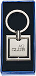Square Metal Key Tags